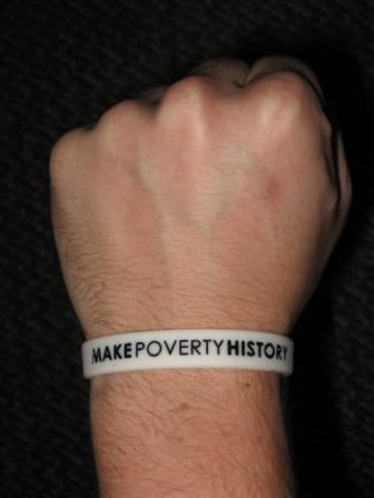 make_poverty_history_wristband