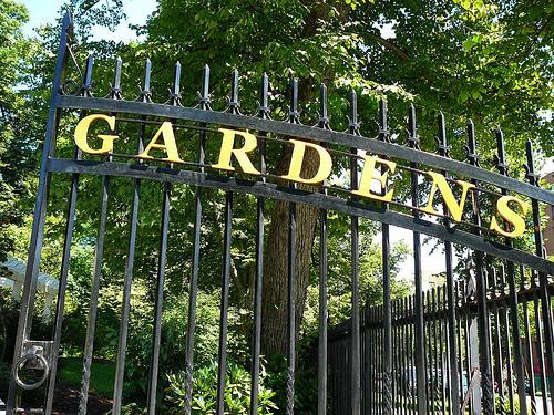 Public Gardens Side Gate