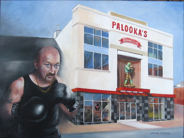 Mickey MacDonald Outside Of His Boxing Gym