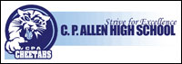 Charles P. Allen High School logo