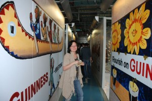 At the Guinness Storehouse