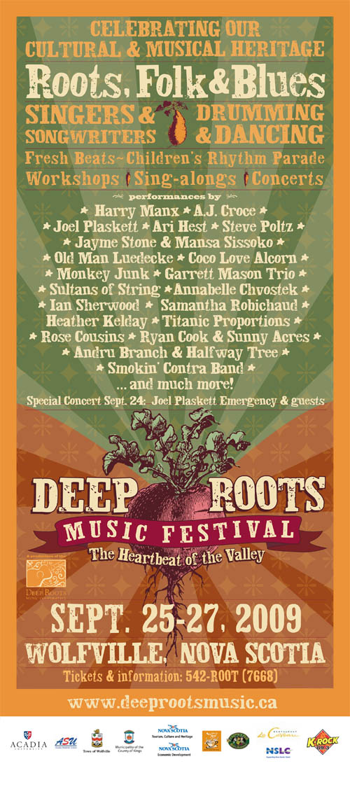 Annual festival dedicated to the music and musicians of the Annapolis Valley, Nova Scotia.