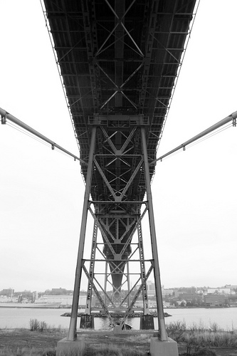 Under another bridge