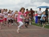 The kids race circled DeWolf Park.
