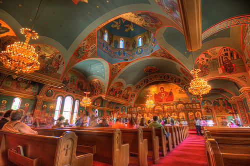 St. George's Greek Orthodox Church - Greekfest 2011, Halifax, NS HDR 2