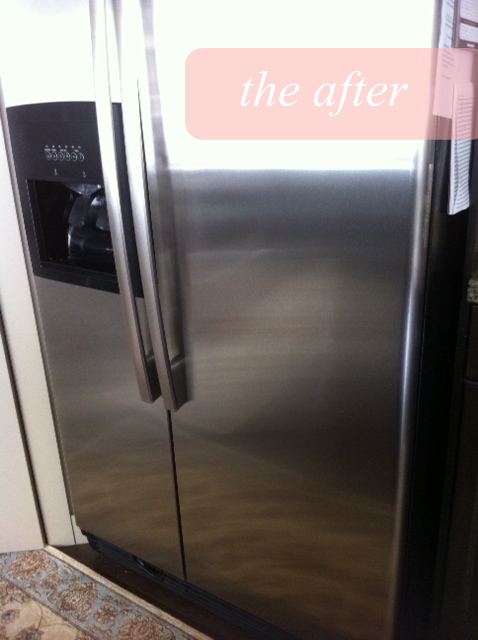 How to naturally clean stainless steel before after How to take scratches out of stainless steel appliances