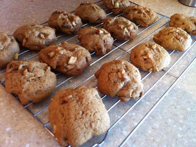 Apple Raisin Cinnamon Cookies