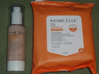 Marcelle Hydra-C skin care line