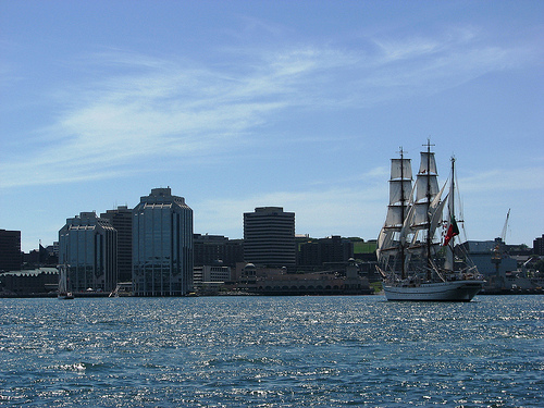 Sagres, Parade of Sail, Tall Ships Halifax 2009