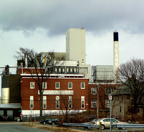 Storm Brewing Over Oland's Brewery (79/365)