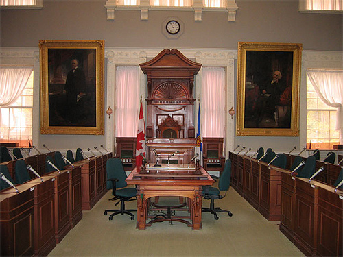 The Nova Scotia legislature