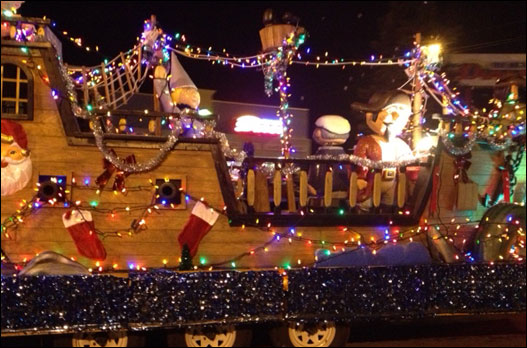 Bedford sparkled with thousands of lights!