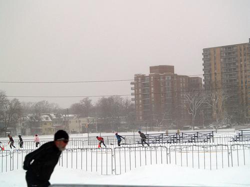 Skating Oval in Halifax