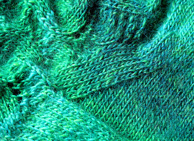 Green socks!