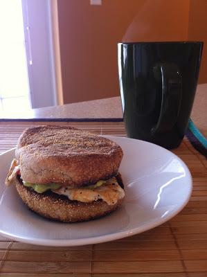 Egg White Breakfast Sandwich With A Twist