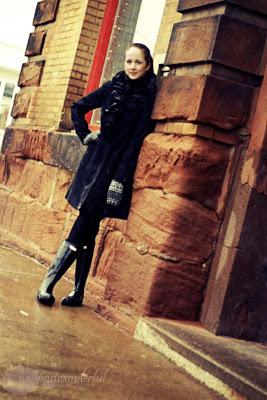 Tahari Ruffle Coat