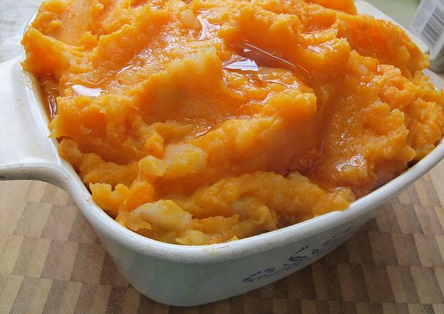 Sweet Potato Lentil Mash