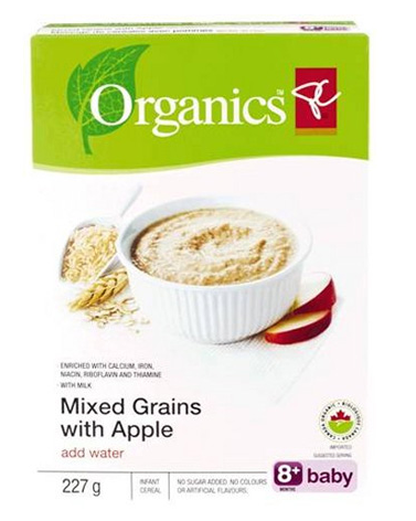 "organic baby cereals recalled due to ""foul odor"""