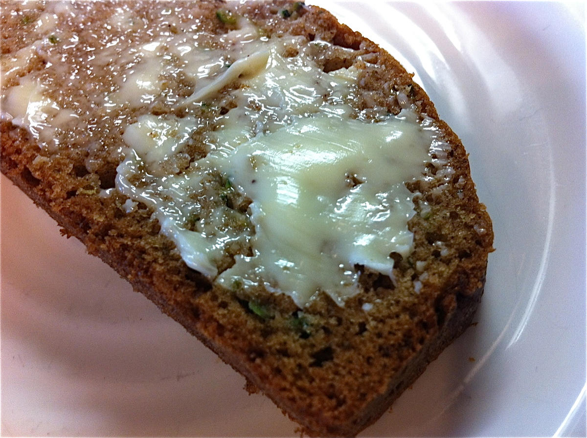 in the kitchen: zucchini bread