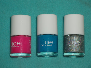 Joe Fresh Spring nail polish