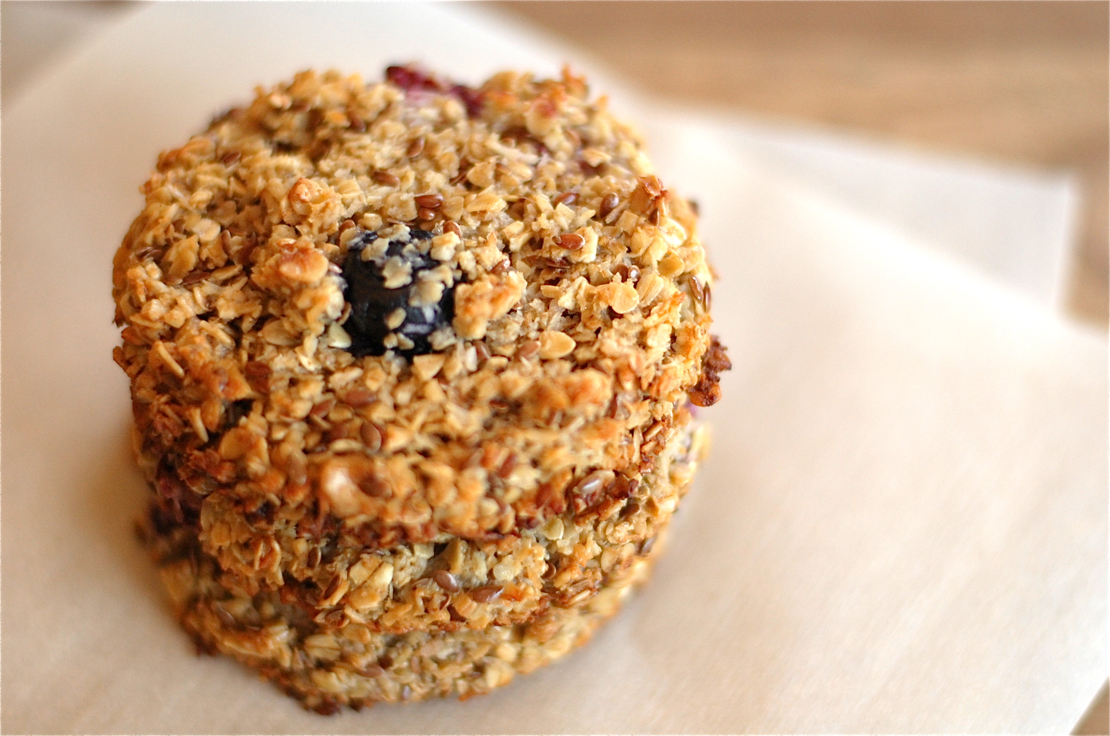in the kitchen: skip the packaged cereal bars make breakfast cookies instead!