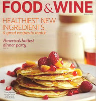 Food Wine Magazine March Cover Recipe