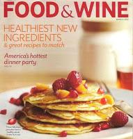 Food Wine Magazine February Cover Recipe