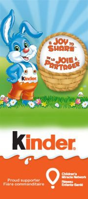 Kinder Canada and a Joy to Share