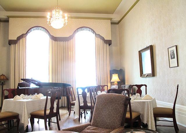 Afternoon Tea at the Halifax Club