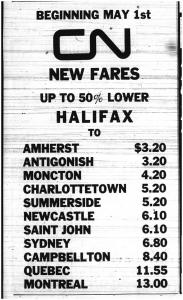 Retro Sunday: Taking the Train (50 years ago)