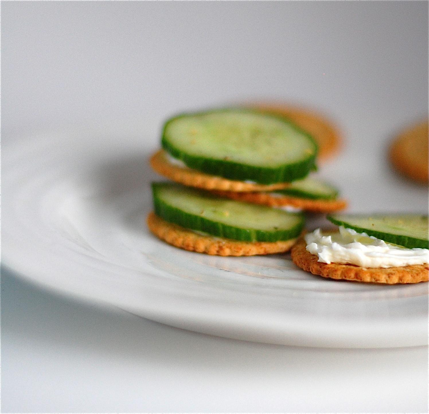 "in the kitchen: kid-friendly healthy ""fancy"" crackers."
