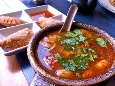 Hot and Sour at Hamachi Kita