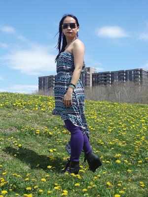 OOTD: Asymmetrical dress