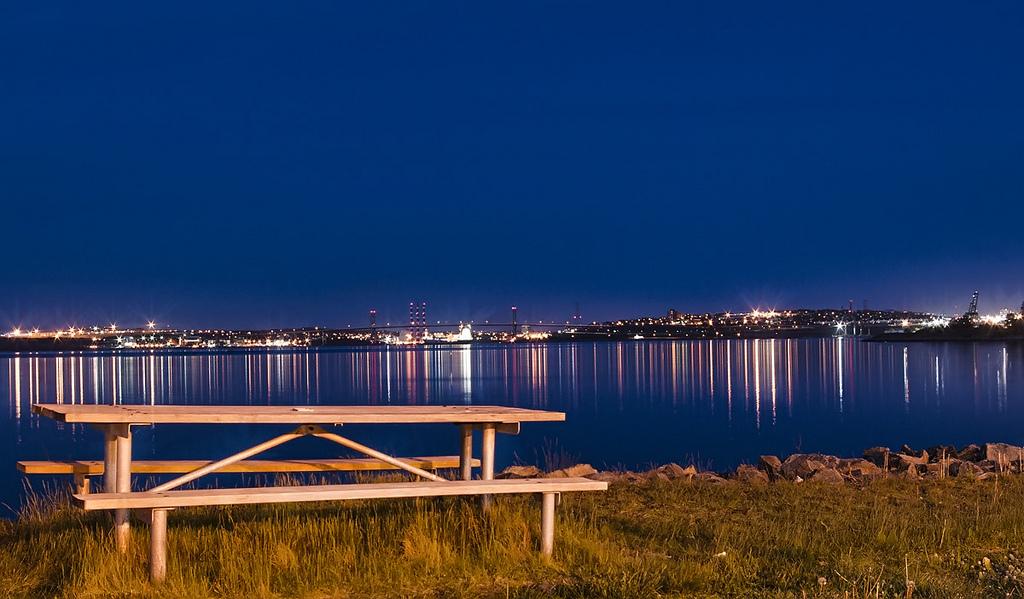 Halifax at night