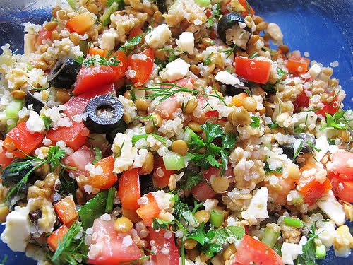 Shortcut Recipes: Mediterranean Quinoa Salad