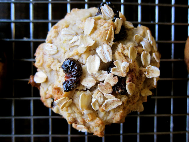 Muffin Monday: Cherry, Oatmeal Walnut Muffins