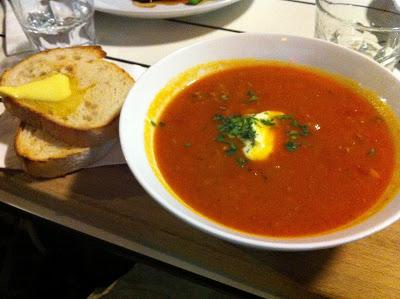 1st Dinner in Australia at James Street Bistro