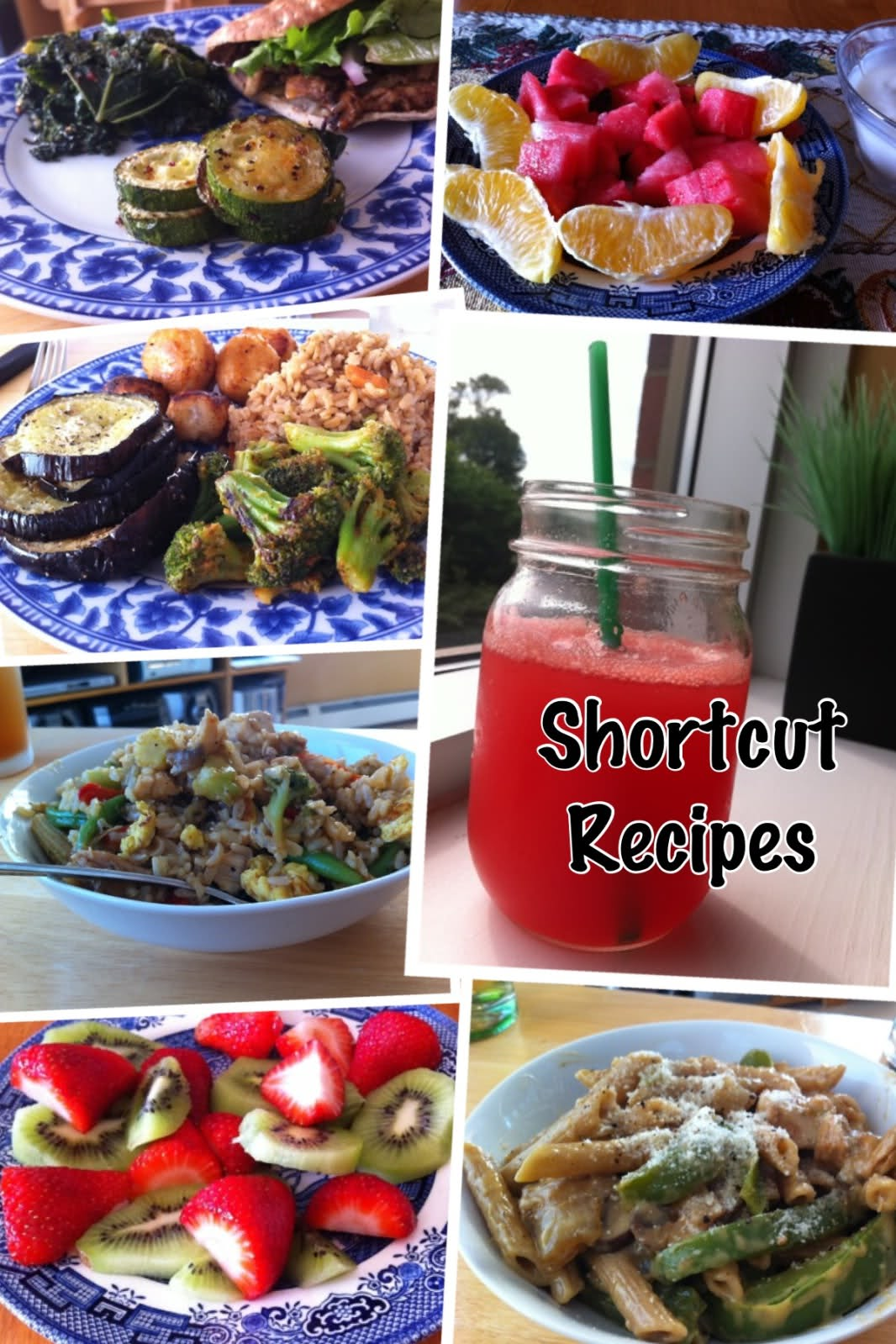 Shortcut Recipes Recap