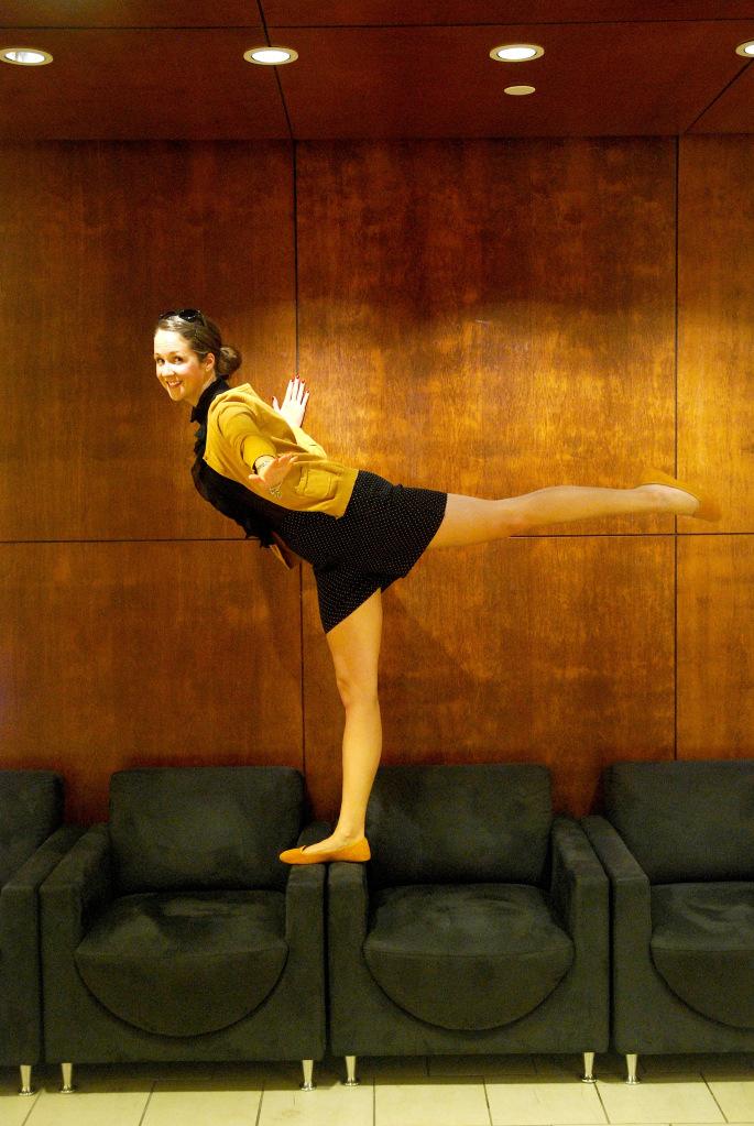 Mustard Ballet Flats