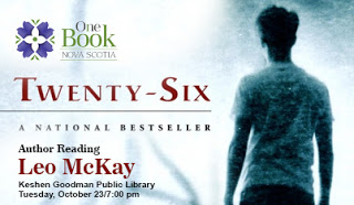 Twenty-Six - Leo McKay Author Reading Tonight