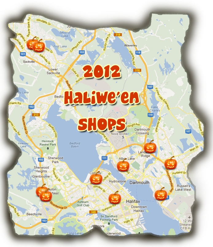 This Years HALIwe'een Shops