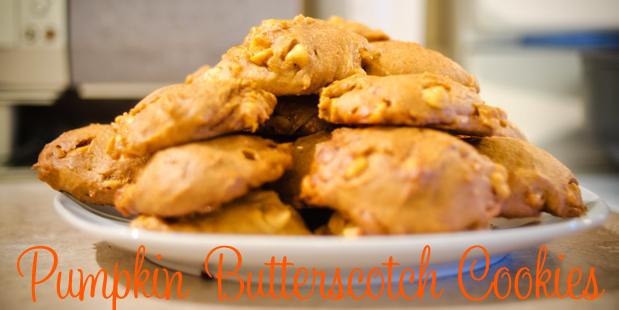 Treats: Pumpkin Butterscotch Cookies