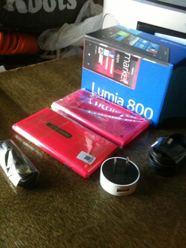 You could win a Nokia Lumia 800!