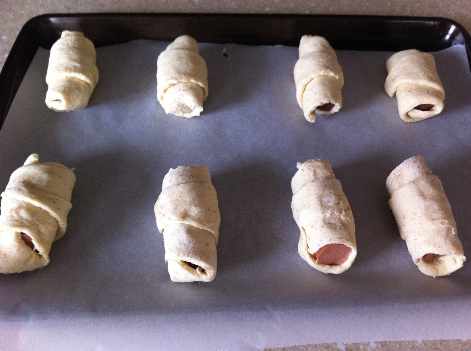 Vegetarian Pigs-in-a-Blanket