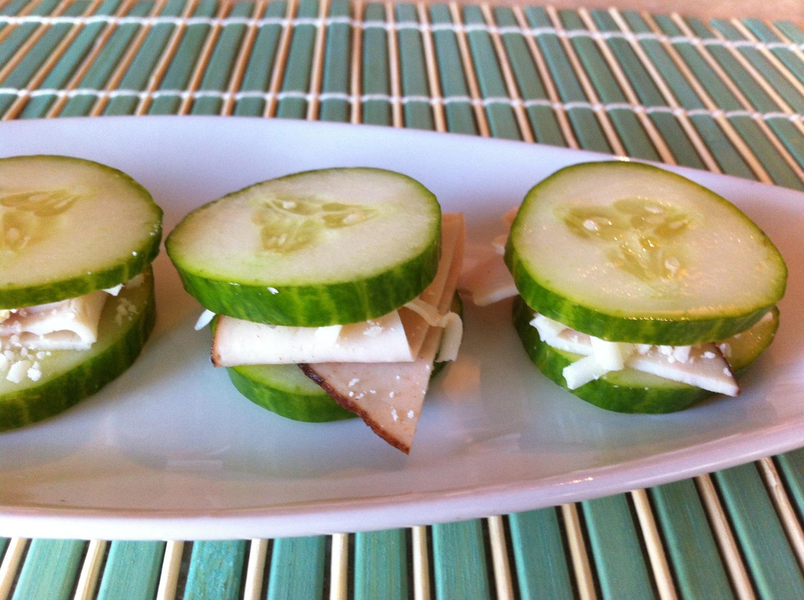 Mini (Gluten Free) Cucumber Sandwiches
