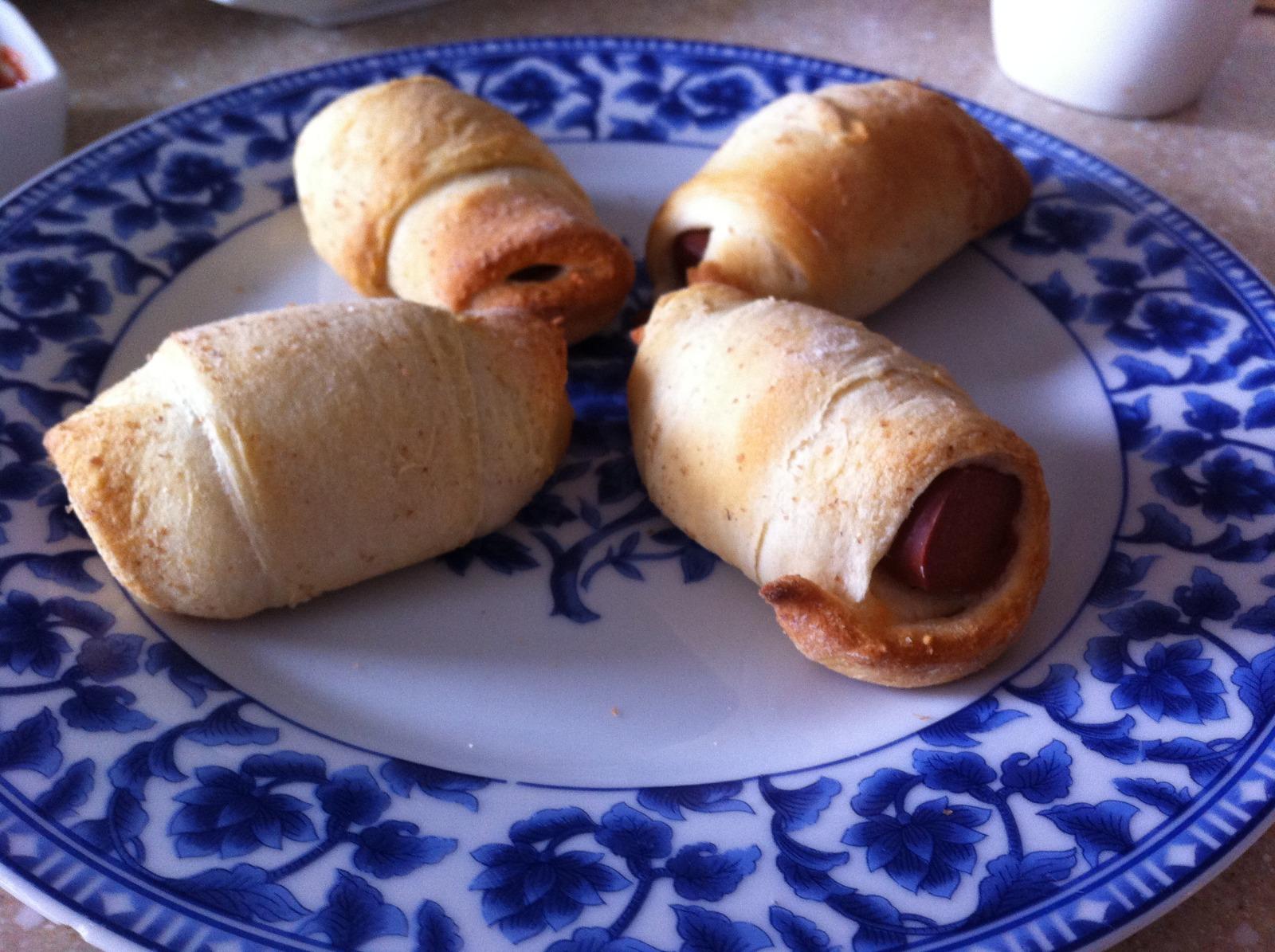 Vegetarian Pigs-in-a-Blanket