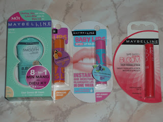 Maybelline Asia products
