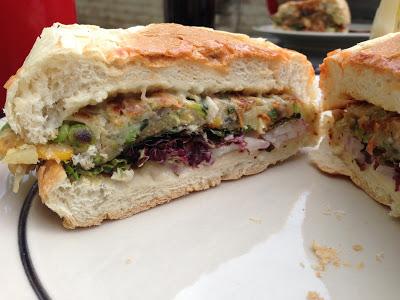 Veggie Burgers: Chickens Plus vs. Fish on Fire