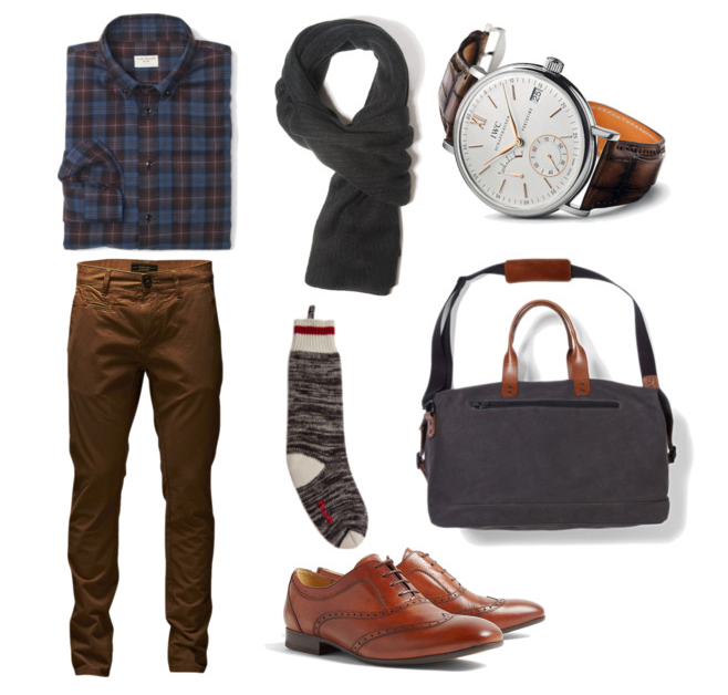 Menswear Monday: Shades of Fall
