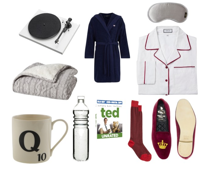 Menswear Monday: Sick Time Necessities